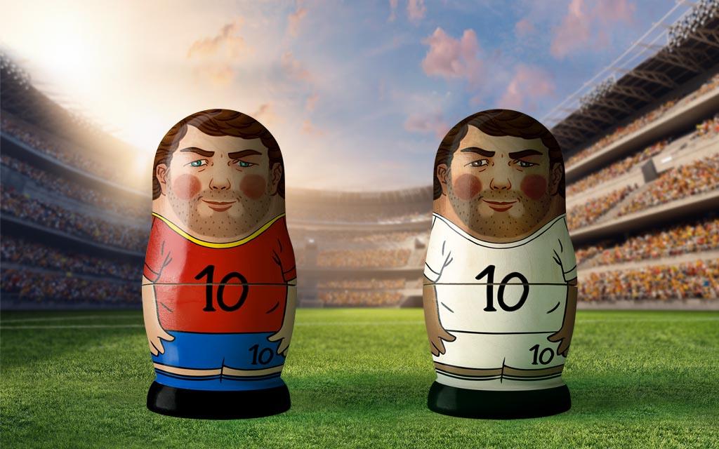WM 2018, Achtelfinale: Spanien - Russland