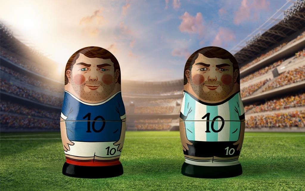 WM 2018, Achtelfinale der Ex-Weltmeister: Frankreich - Argentinien