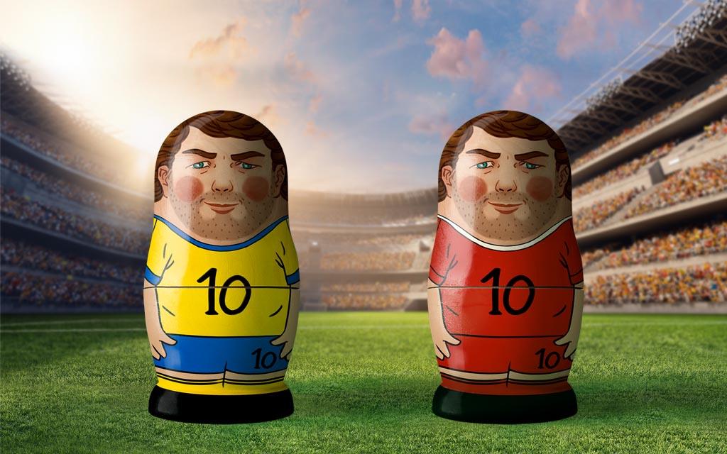 WM 2018, Achtelfinale: Schweden - Schweiz
