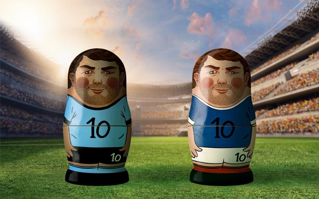 Uruguay - Frankreich