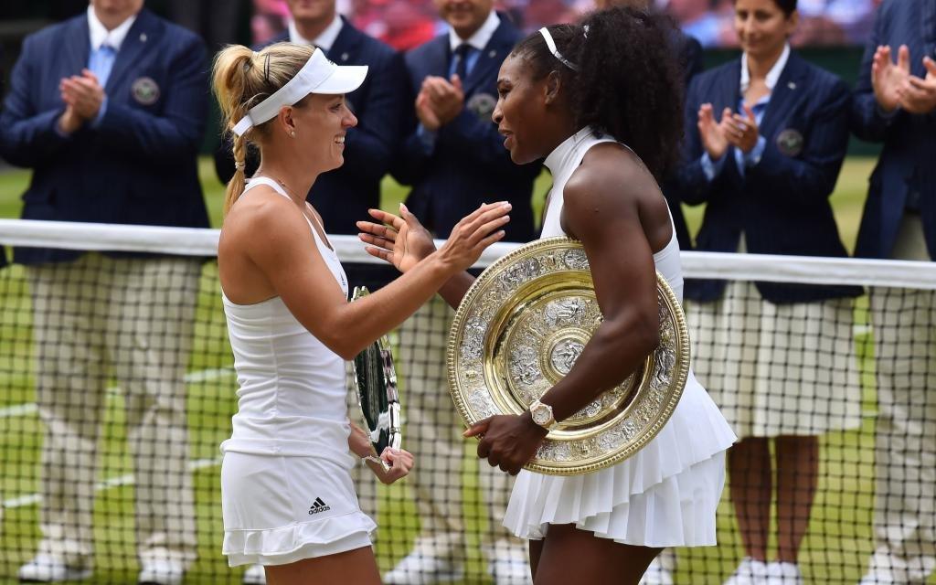 Wimbledon, Finale der Damen: Angie Kerber – Serena Williams
