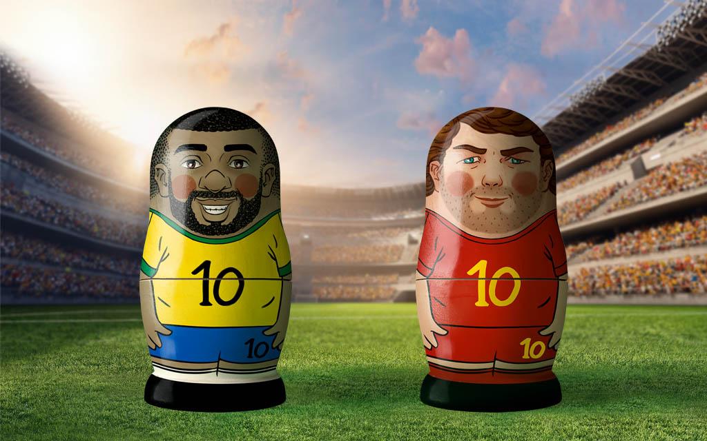 WM 2018, Viertelfinale: Brasilien - Belgien