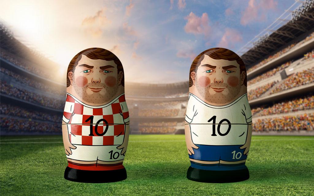 WM 2018, Halbfinale: Kroatien - England