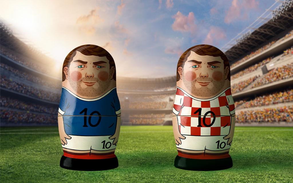 WM 2018, Finale: Frankreich – Kroatien