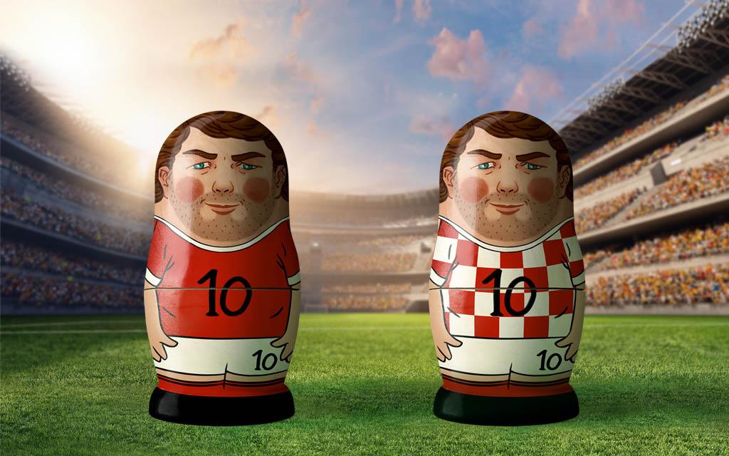 WM 2018, Viertelfinale: Russland - Kroatien. Nimmt Russland auch die kroatische Hürde?