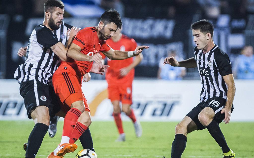 Besiktas - Partizan, das Hinspiel endete 1:1