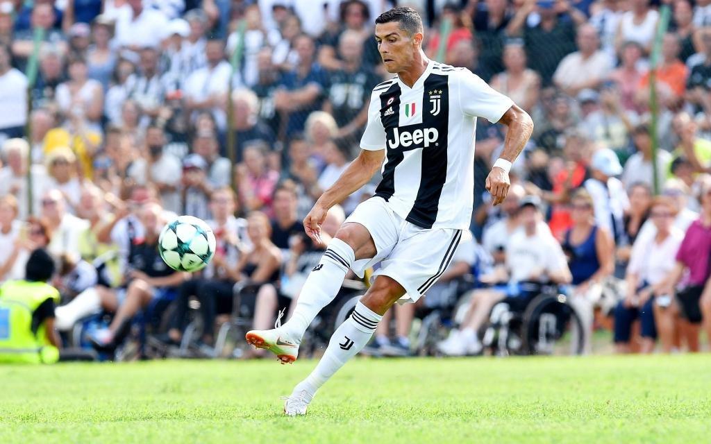 Cristiano Ronaldo im Testspiel gegen Juventus B-Mannschaft.