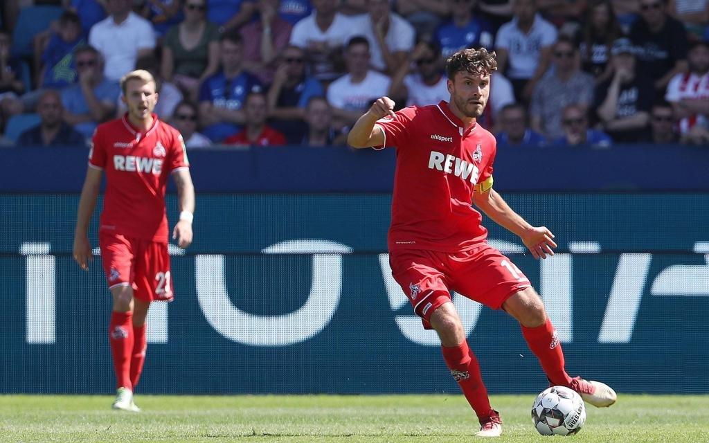 Jonas Hector am 1. Spieltag der 2. Bundesliga Saison 2018/19 in Bochum.