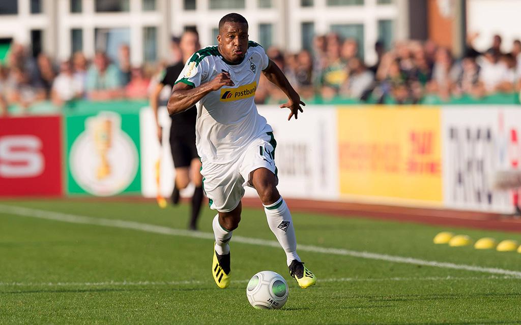 Gladbach - Leverkusen: Alassane Plea spielte zuvor unter Lucien Favre in Nizza