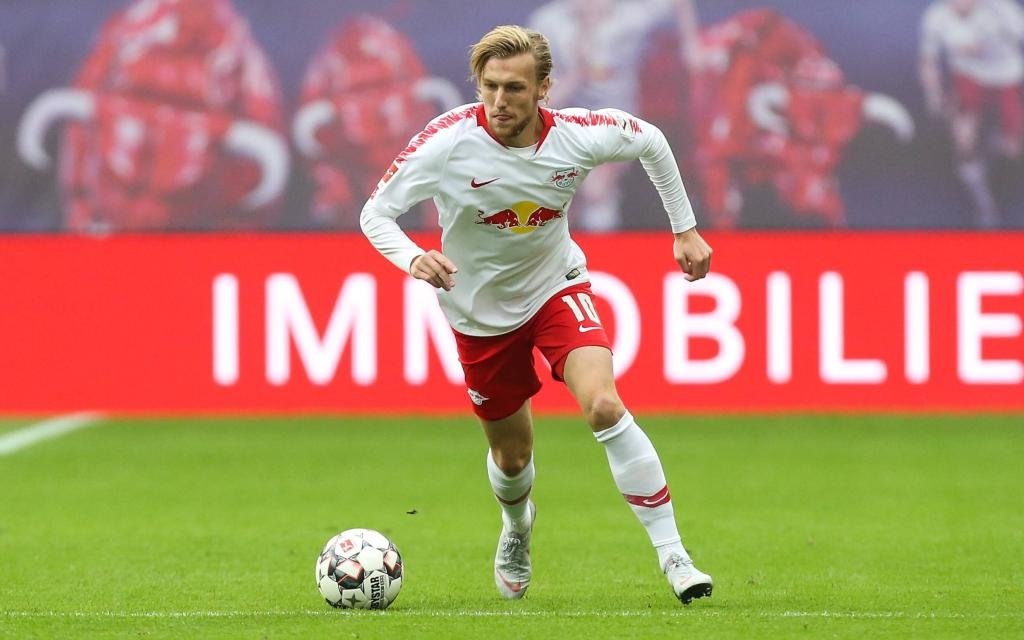 Der Schwede Emil Forsberg von RB Leipzig präsentierte sich zuletzt in starker Form.
