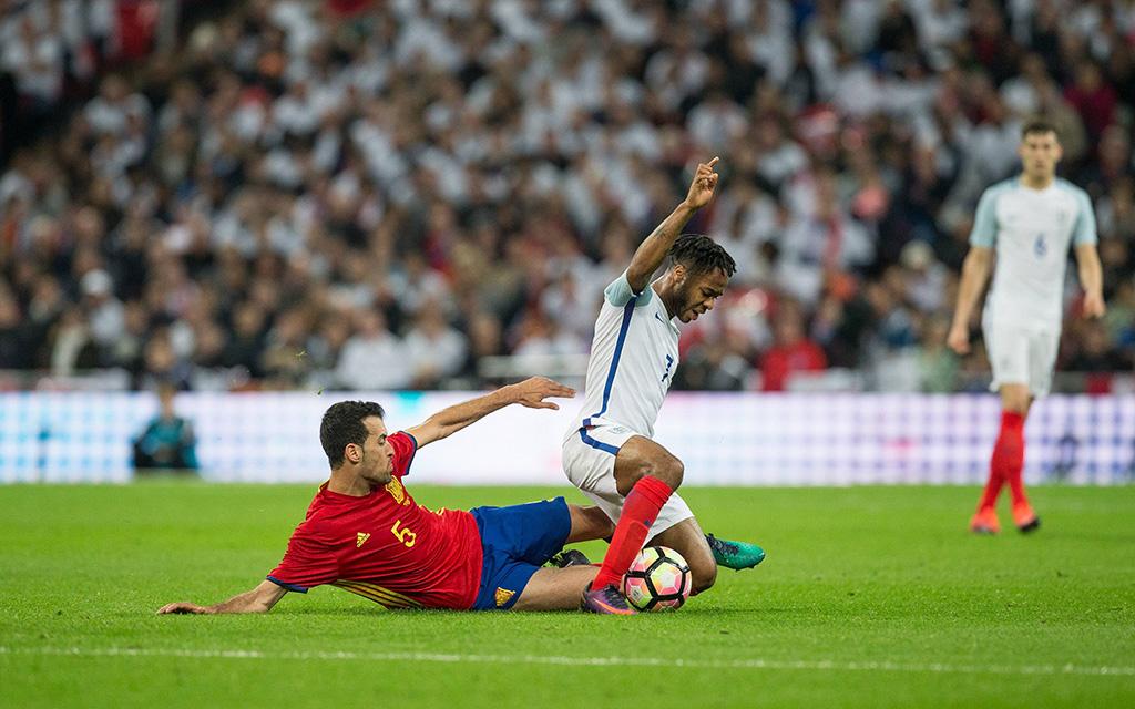 England - Spanien gab's zuletzt am 15. November 2016 - Endstand: 2:2