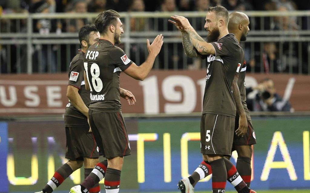 St. Pauli freut sich auf das Hamburg-Derby.
