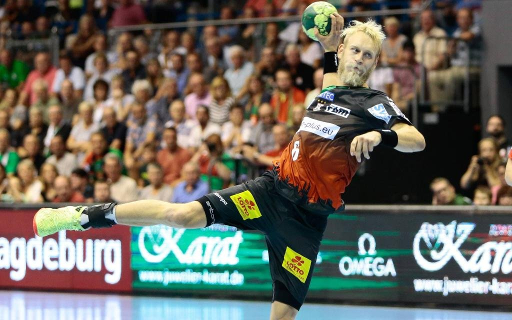 Der Magdeburger Matthias Musche warf zuletzt 16 Tore!