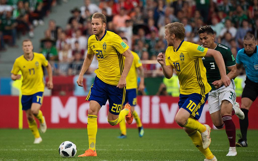Schweden schied bei der WM 2018 schon in der Gruppenphase aus
