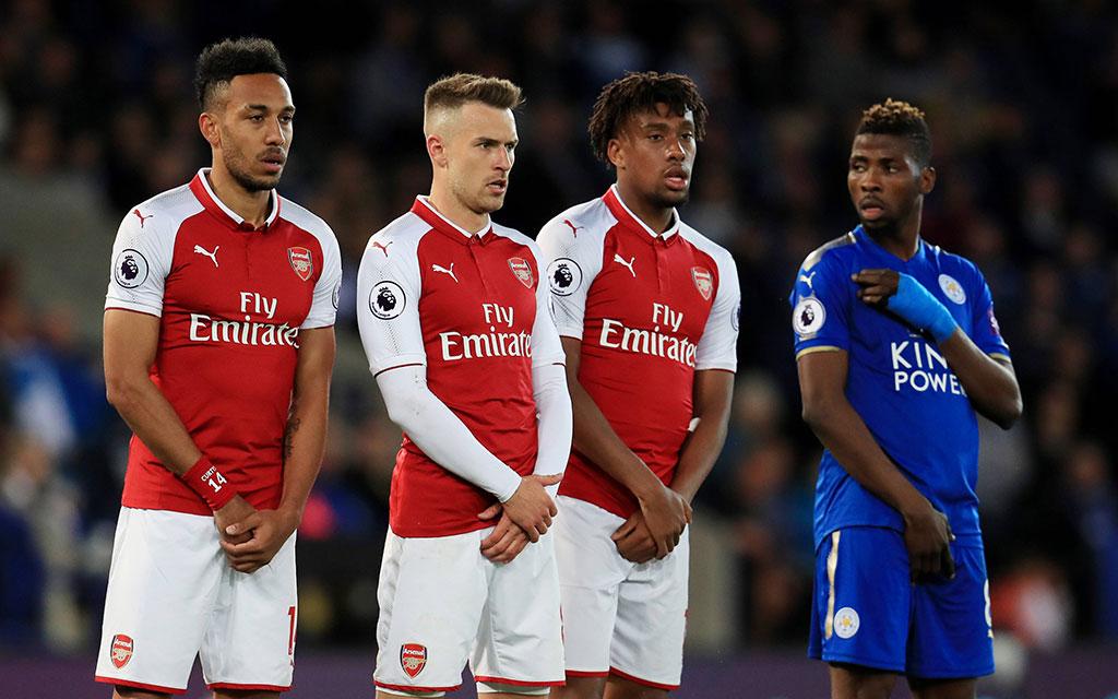 Bei Arsenal sah Leicester in den letzten Jahren kein Land