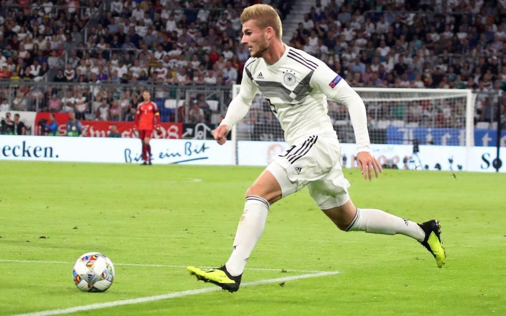 Deutschland – Frankreich: Timo Werner beim 0:0 in der Nations League in München.