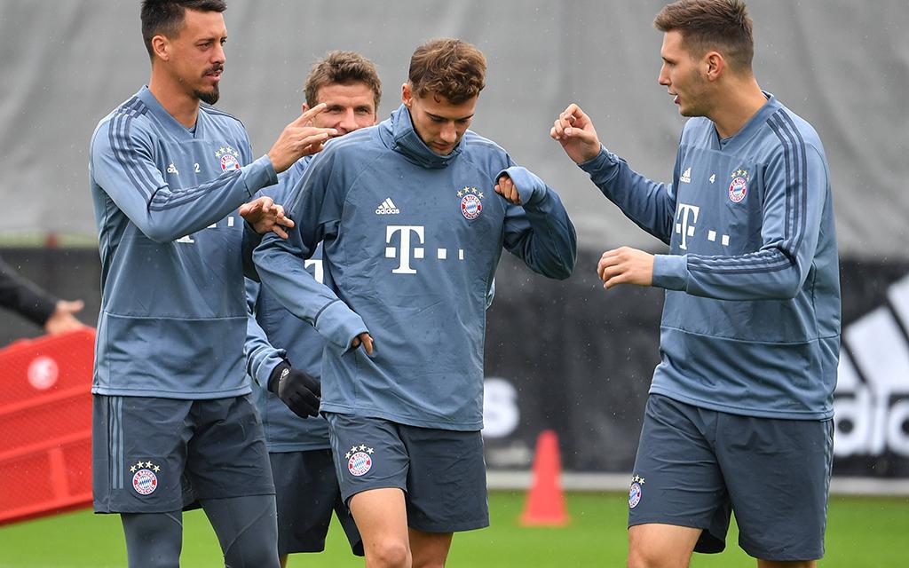 Gute Stimmung beim FC Bayern trotz zweier Rückschläge