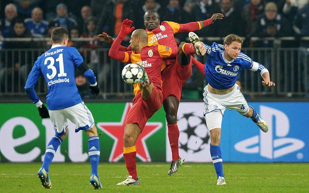 Mit Draxler und Höwedes - das waren Zeiten, als Schalke zuletzt auf Galatasaray traf