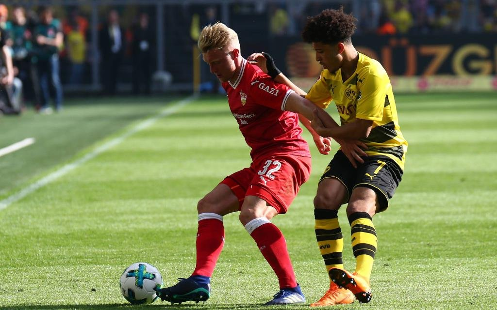 Punktet der VfB gegen den Tabellenführer?
