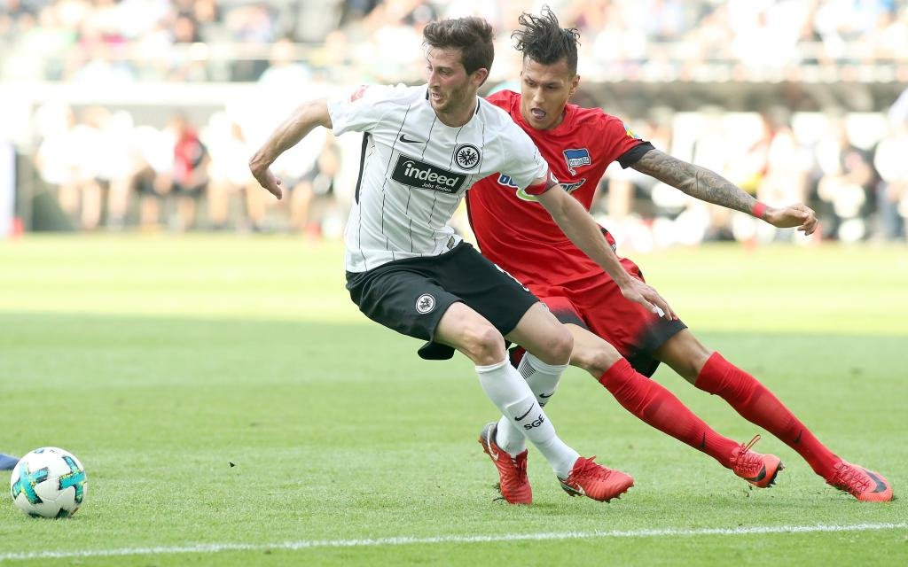 Letzte Saison siegte Selke (r.) mit Berlin bei Abrahams Eintracht.