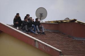 So sahen Fans in Keciören das Spiel zwischen Keciörengücü und Galatasaray