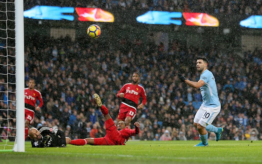 In der letzten Saison gewann City mit 3:1 gegen Watford.
