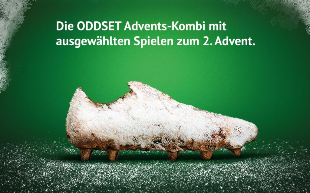 Advent: die 4er-Kombi bei ODDSET
