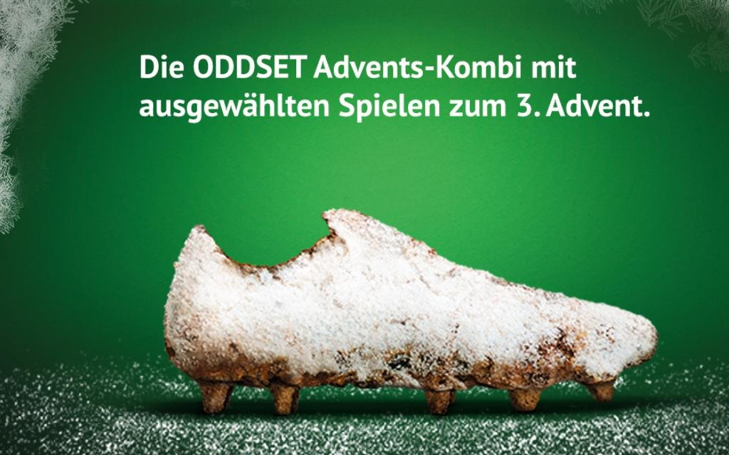 Zum 3. Advent die ODDSET Advents-Kombi