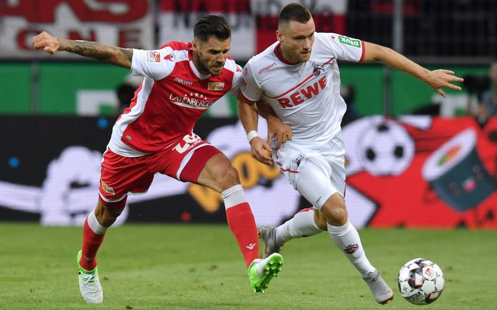 Unentschieden zwischen dem 1. FC Köln und Union Berlin im August.