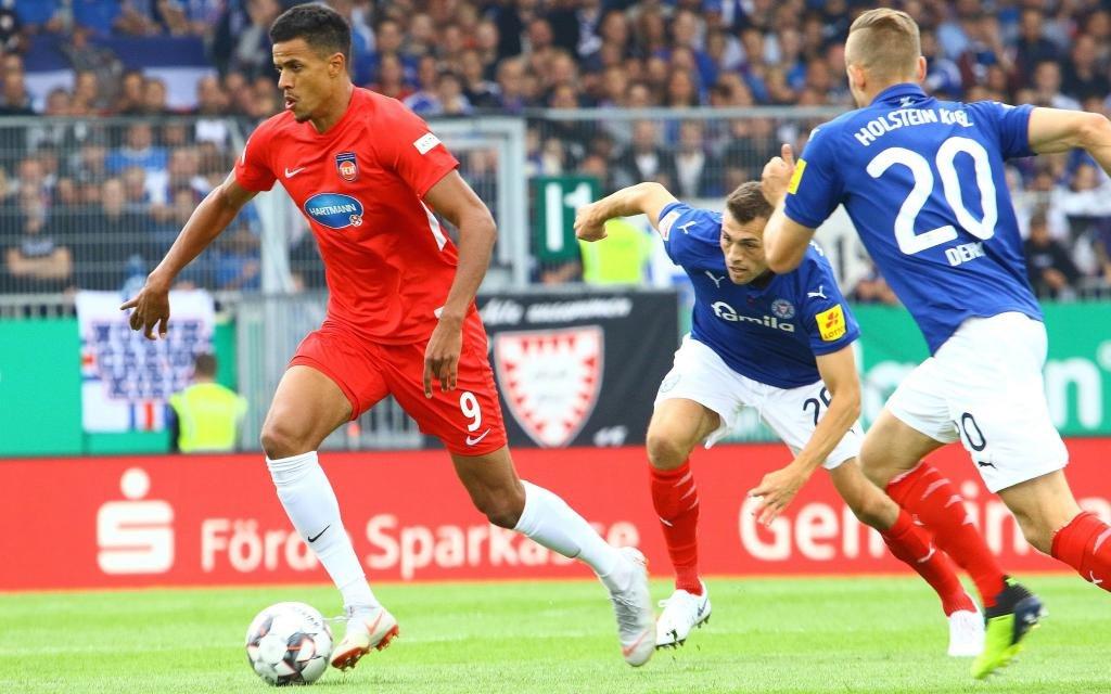 Bleibt Holstein Kiel gegen Heidenheim in Liga zwei ungeschlagen?