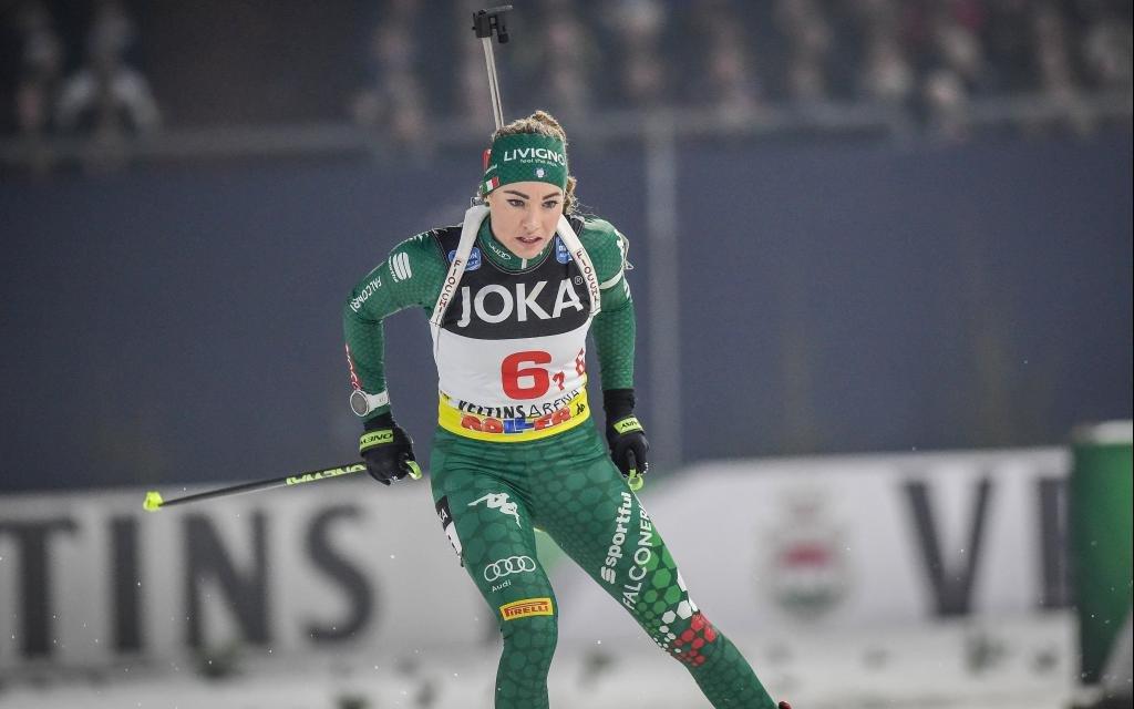 Sprint der Damen mit Mitfavoritin Dorothea Wierer