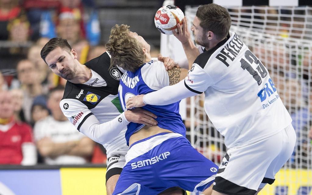 Packen Deutschlands Wiede (l.) und Pekeler auch gegen Kroatien fest zu?