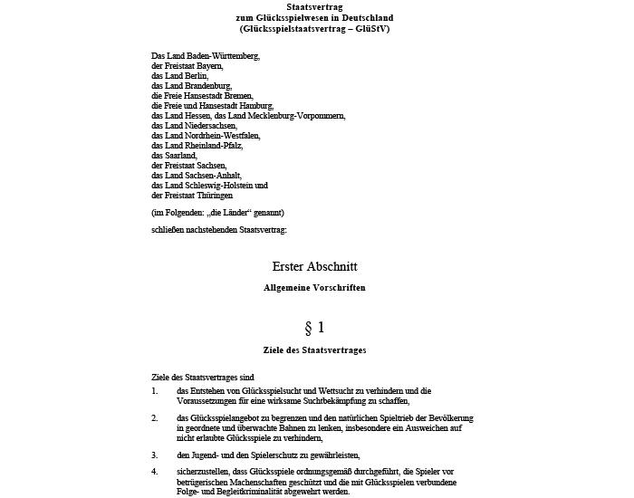 2008: Der erste Glücksspielstaatsvertrag der Bundesländer tritt in Kraft. Ziel ist das Entstehen von Glücksspiel- und Wettsucht zu verhindern, das Glücksspielangebot zu begrenzen und den natürlichen Spieltrieb der Bevölkerung in geordnete und überwachte Bahnen zu lenken, den Jugend- und den Spielerschutz zu gewährleisten und sicherzustellen, dass Glücksspiele ordnungsgemäß durchgeführt werden. ODDSET muss sich als deutscher Sportwetten Anbieter an die Vorgaben des Glücksspielvertrags halten. Dies begründet auch, warum bei ODDSET heute keine Wetten online abgeschlossen und Live-Wetten angeboten werden dürfen.