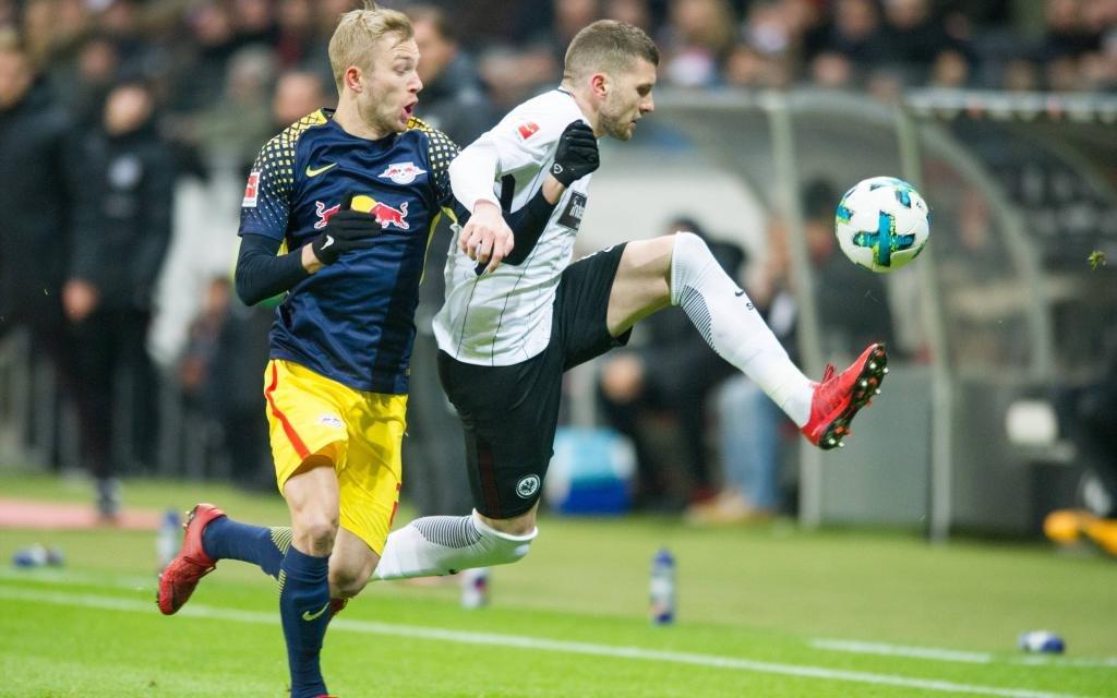 Bundesliga, Rückrunde 17/18: Eintracht Frankfurt - RB Leipzig