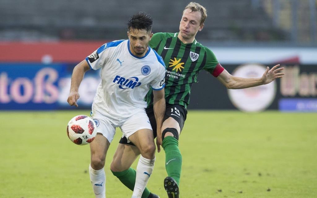 Fußball: 3. Liga, Saison 2018/2019, 4. Spieltag, Preußen Münster - Sportfreunde Lotte am 13.08.2018 in Münster