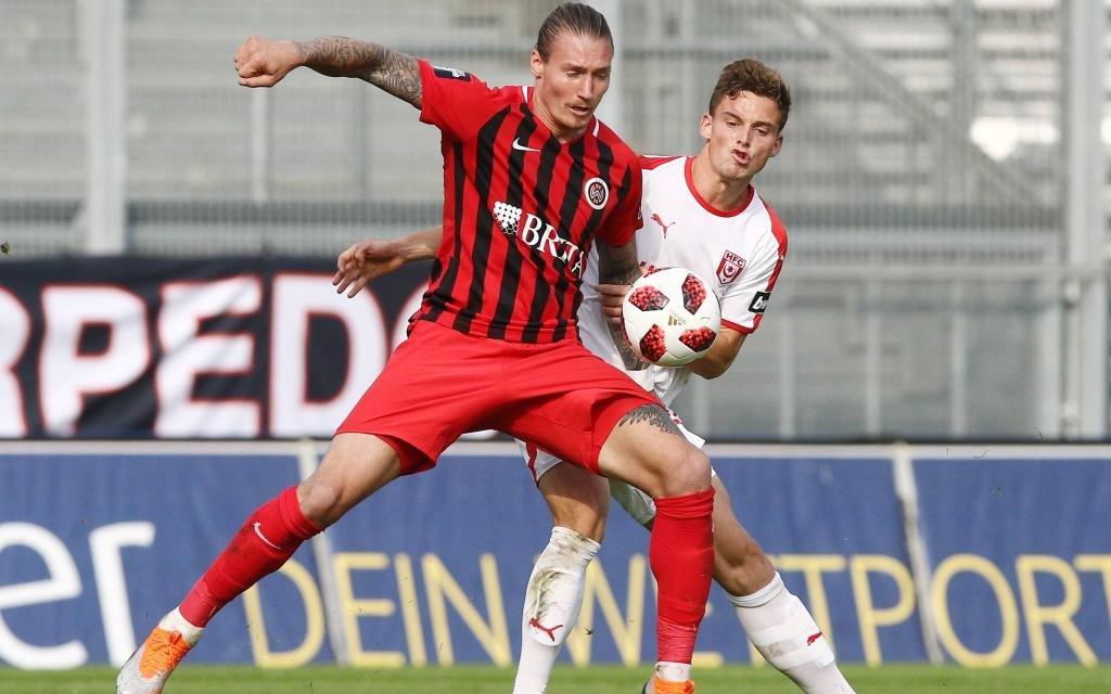 Der Hallescher FC will das 0:2 der Hinrunde wettmachen.