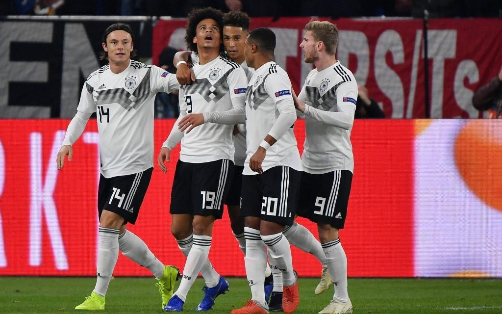UEFA Nations League: Deutschland - Niederlande Bild: Leroy Sane (Deutschland) macht das Tor zum 2:0