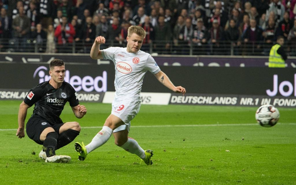 Düsseldorf-Frankfurt: Ärgert die Fortuna den nächsten Europacup-Starter?