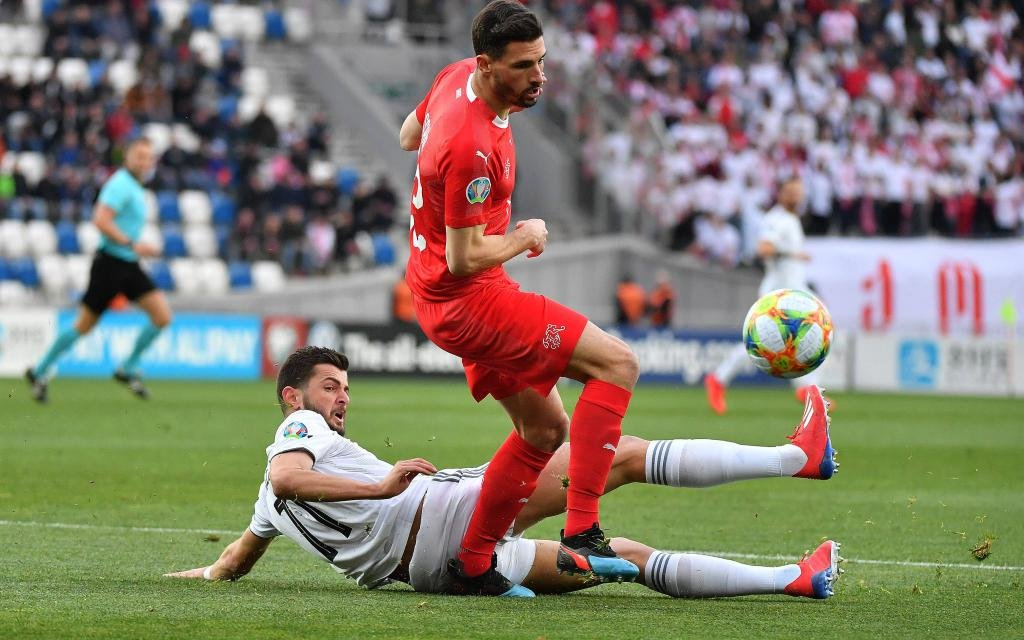 Können die Schweizer nach Georgien nun auch Dänemark besiegen?