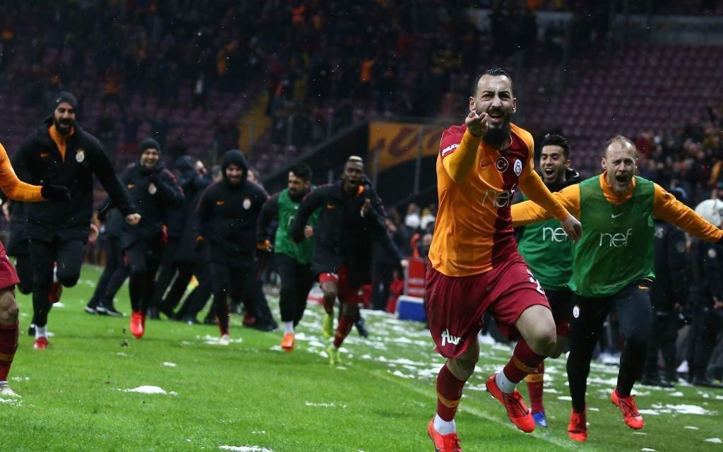 Alles Süper: Kostas Mitroglou traf zum ersten Mal für Galatsasaray