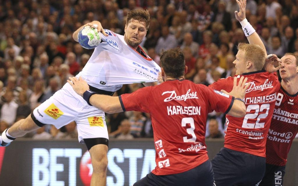 Stoppen Karlsson, Zachariassen und Glandorf wie in der Hinrunde Marko Bezjak (SCM) in Flensburg?
