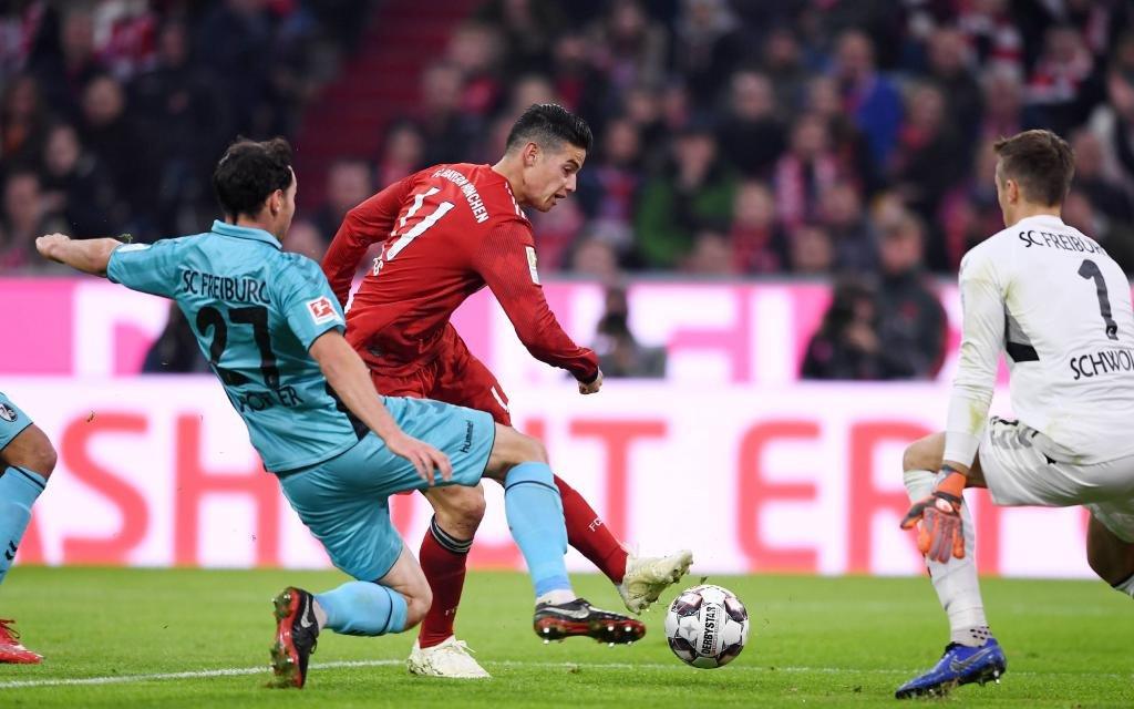 Freiburg - Bayern: Das Hinspiel endete 1:1