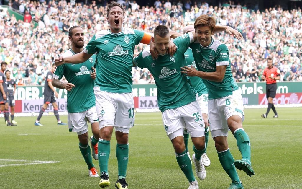 Dürfen Werder-Spieler auch am nächsten Spieltag jubeln?