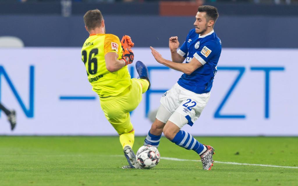 In der Hinrunde erzielte Skrzybski das 1:0 für Schalke.