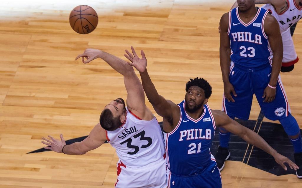 Raptors gegen 76ers ist stets ein spannendes Duell