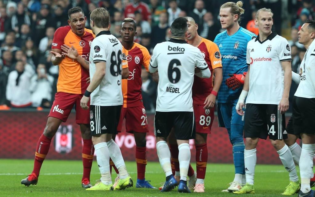 Galatasaray - Besiktas: Das Hinspiel gewannen die Schwarzen Adler