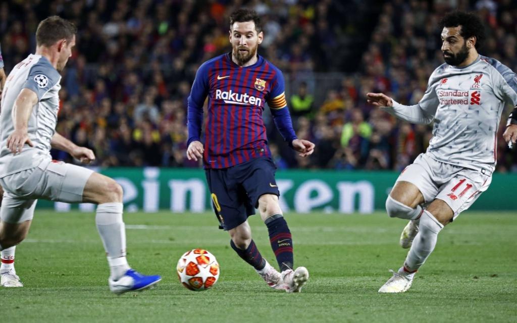 Die Chancen des FC Liverpool aufs Finale sind nach der Messi-Gala im Hinspiel nur noch gering.