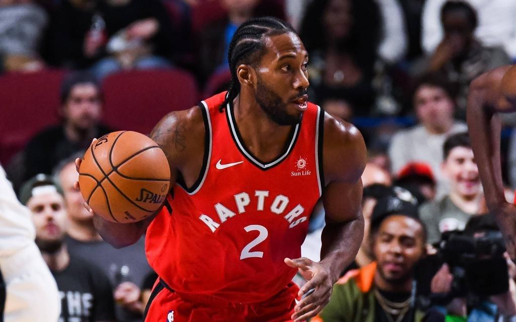 NBA-Finals: Torontos Leonard beim Ballvortrag