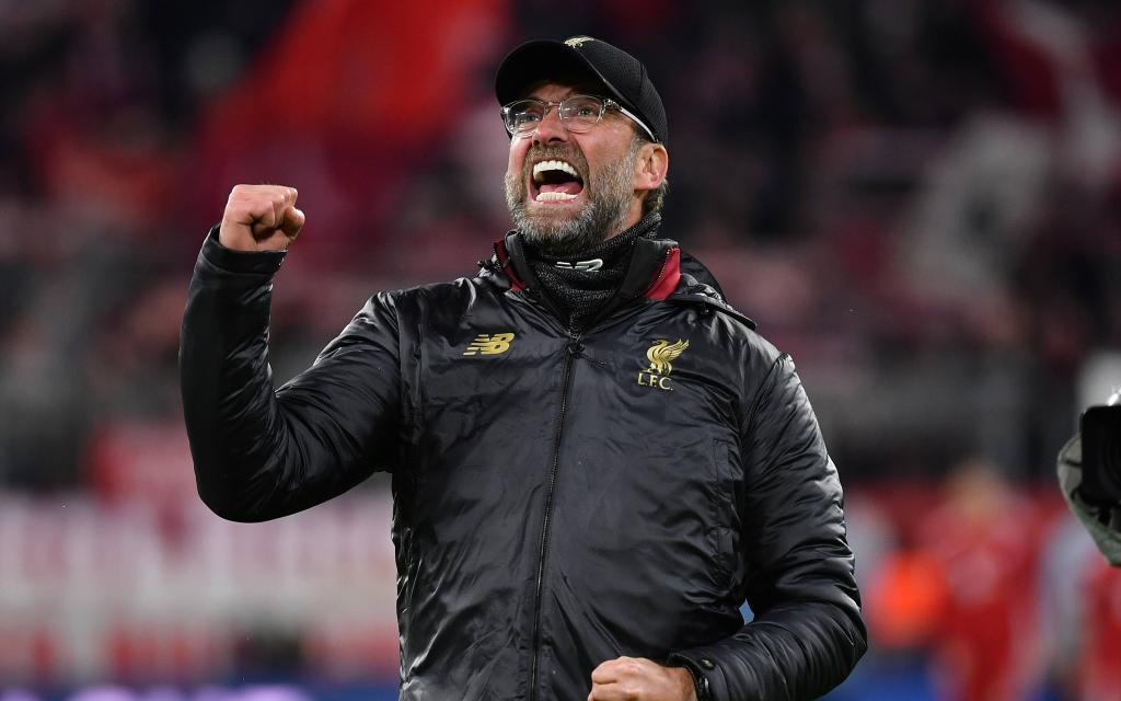 Juergen KLOPP (Trainer Liverpool), Jubel,Freude,Begeisterung im CL-Halbfinale gegen die Bayern (3:1).