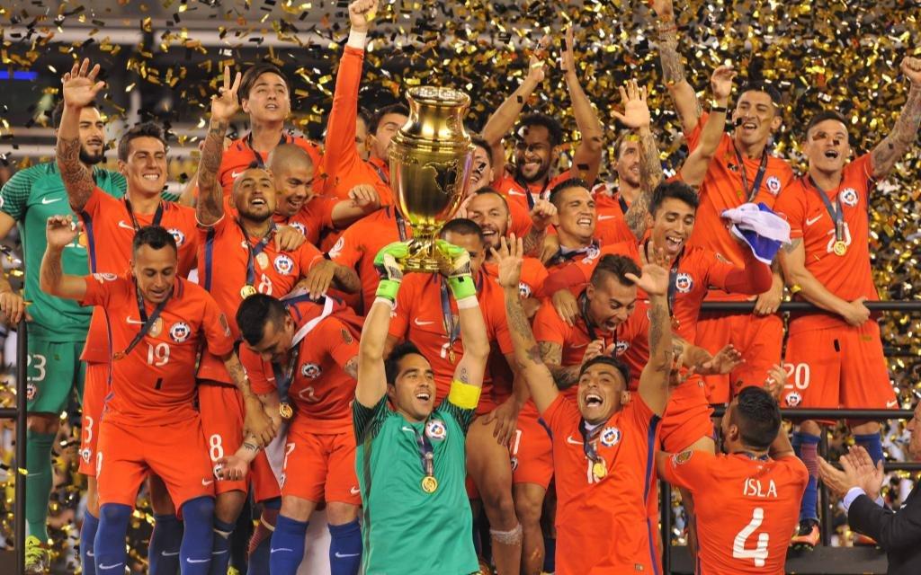 Auch in Brasilien wollen Chiles Kicker wieder jubenl.